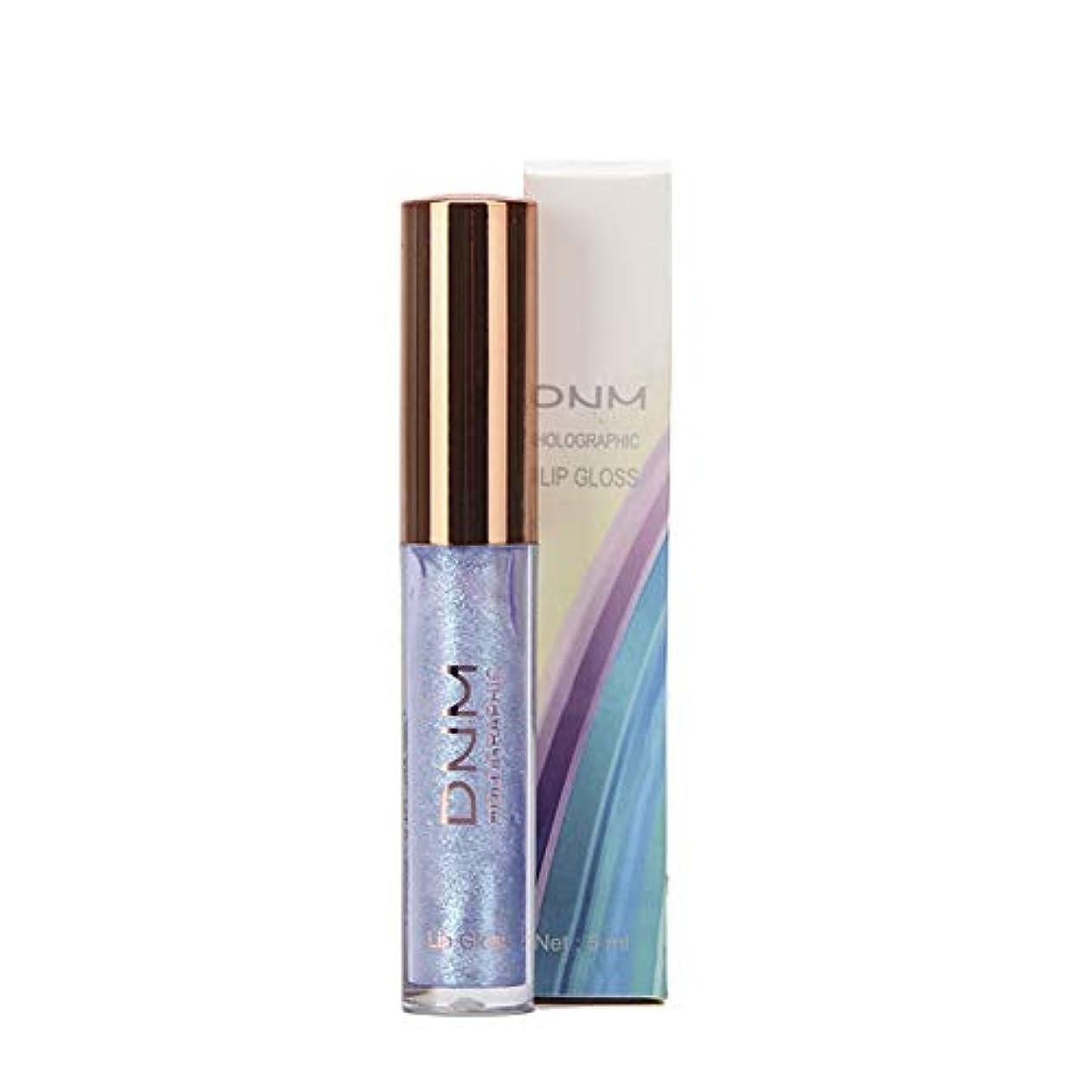 MeterMall 偏光リップグロス釉薬カメレオンブライトフラッシュ真珠光沢のある保湿リップスティック 3#