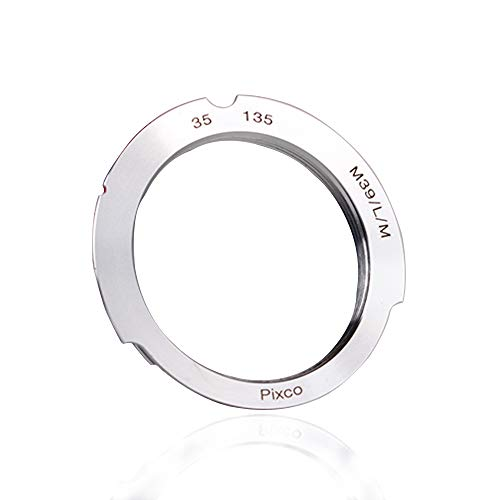(バシュポ) Pixco マウントアダプター ライカM39マウント35-135mmレンズ-ライカMカメラボディー対応 ライカ...