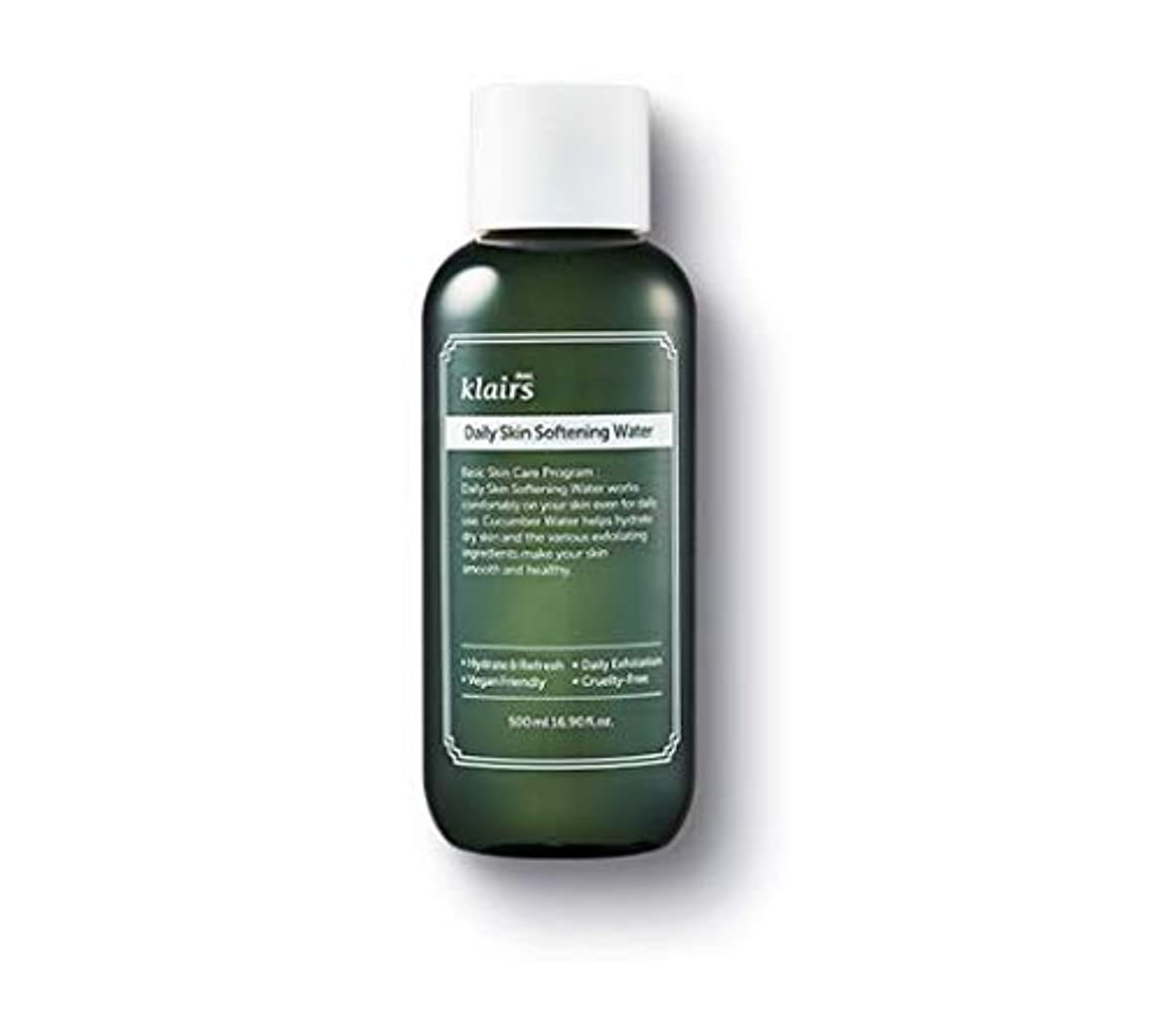 差せっかち致命的な【クレアス】デイリースキンソフトニングウォーター(500ml)|韓国コスメ?化粧水?キュウリ水?敏感肌?乾燥肌?マイルド化粧水|[dear,klairs] Daily Skin Softening Water 500ml