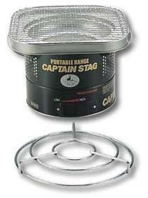 キャプテンスタッグ(CAPTAIN STAG) バーベキュー用 七輪 コンロ グリル 焚火台  [1~2人用]M-6404