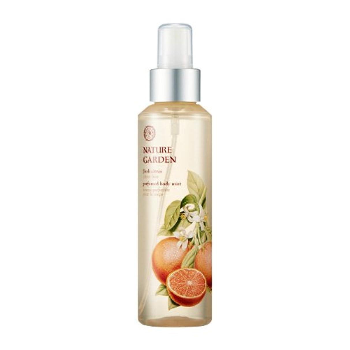 癌大佐顕現THE FACE SHOP NATURE GARDEN (Fresh Citrus) Perfume Body Mist 155ml / ザ?フェイスショップ ネイチャーガーデン パフューム ボディミスト [並行輸入品]