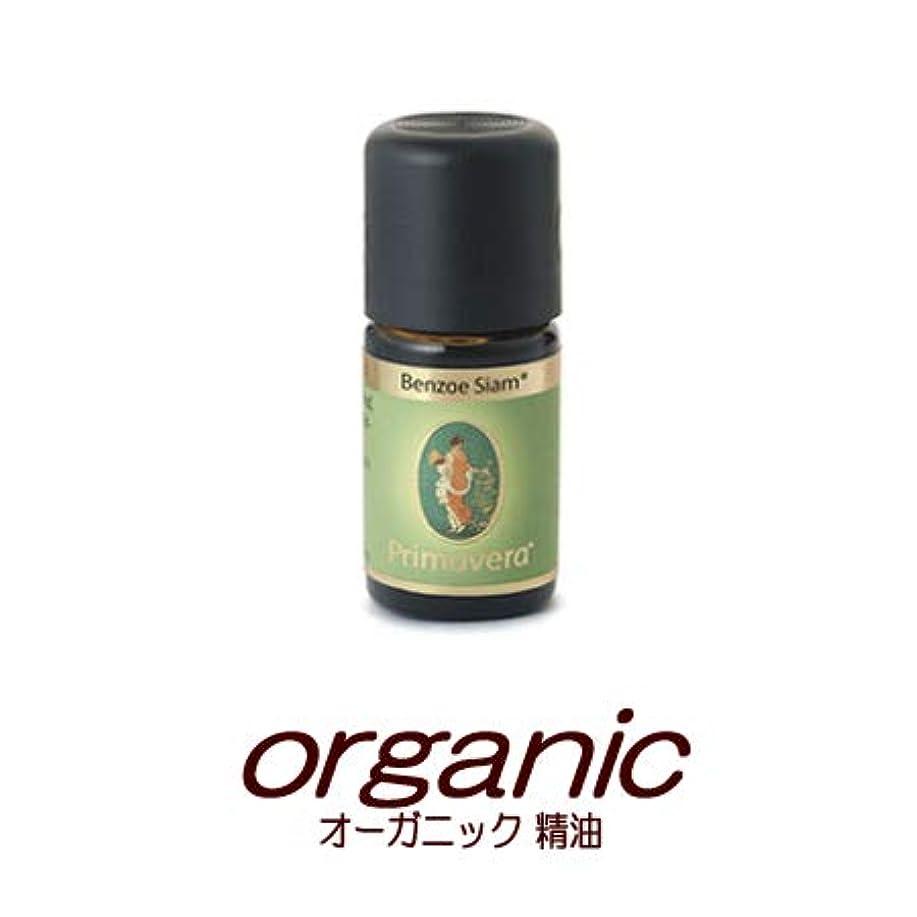 印象的ななる大胆なオーガニックオイルエッセンシャルオイル(精油) 安息香(ベンゾイン)BIO5mlプリマヴェーラ(プリマベラ)【フェアトレード】樹脂系ベースノート