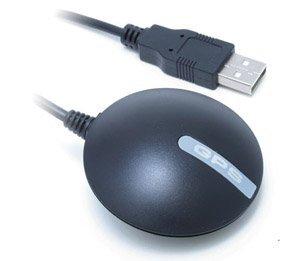 [Simble] SiRFstarIII GPSチップ 内蔵 アンテナ 一体型 GPS 受信機 BU-353S4 GPS レシーバー (GlobalSat IC使用)