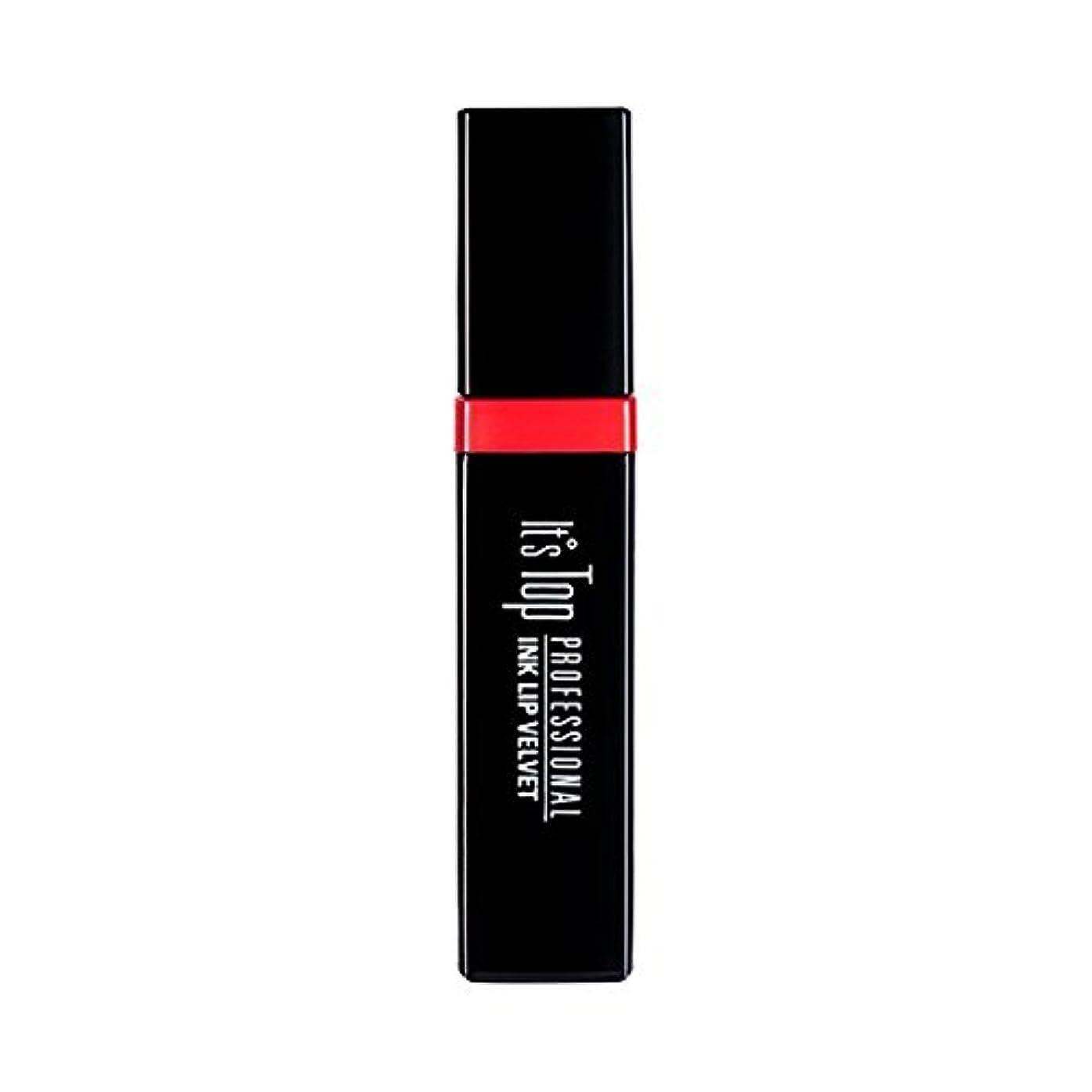 パステル準備した無臭It's Skin it's top professional ink lip velvet イッツスキンイッツトッププロフェッショナル インクリップベルベット (02 Cherry meringue) [並行輸入品]