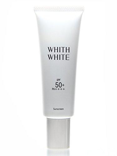 フィス 美白 日焼け止め クリーム 「 石鹸で落とせる SPF50 + PA ++++ 」「 コラーゲン ヒアルロン酸 配合」50g