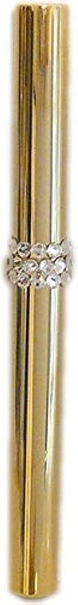 突撃状態簡単なアトマイザー ロールオン 香水 詰め替え 『C-line』 スティックアトマイザー (ゴールド ? メタル) / スワロフスキー クリスタル/携帯性?遮光性?保香性