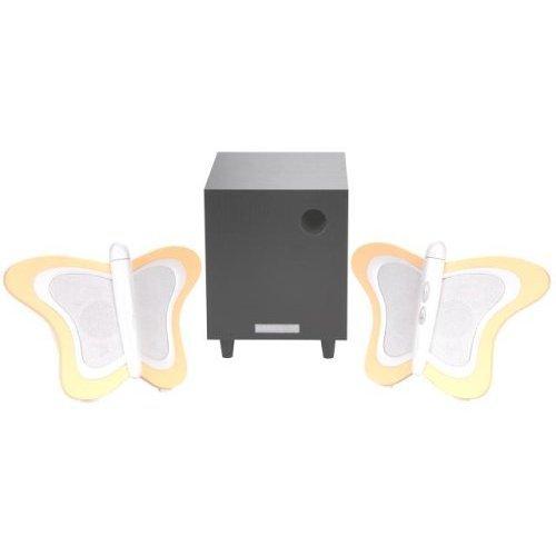 HANNspree Butterfly 2.1 Channel Speaker System (KS03-21U1-001) [並行輸入品]
