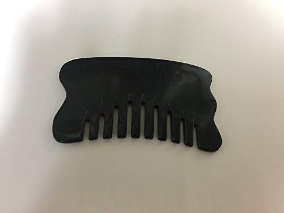 ステッチみすぼらしいアーカイブ水牛の角の板・グアシャ板・美肌石 顔・体・ヘッド用