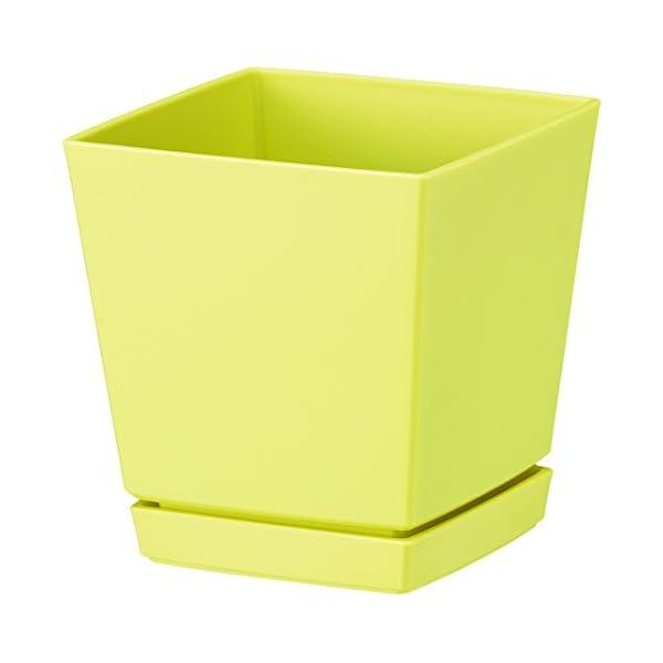 大和プラスチック クエンチローポット(鉢皿付) ...の商品画像