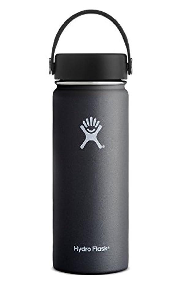 ベンチャーエゴイズム船尾Hydro Flask 18オズ二重壁真空断熱ステンレス鋼の漏れ防止スポーツウォーターボトル、BPAフリーフレックスキャップ付広口、