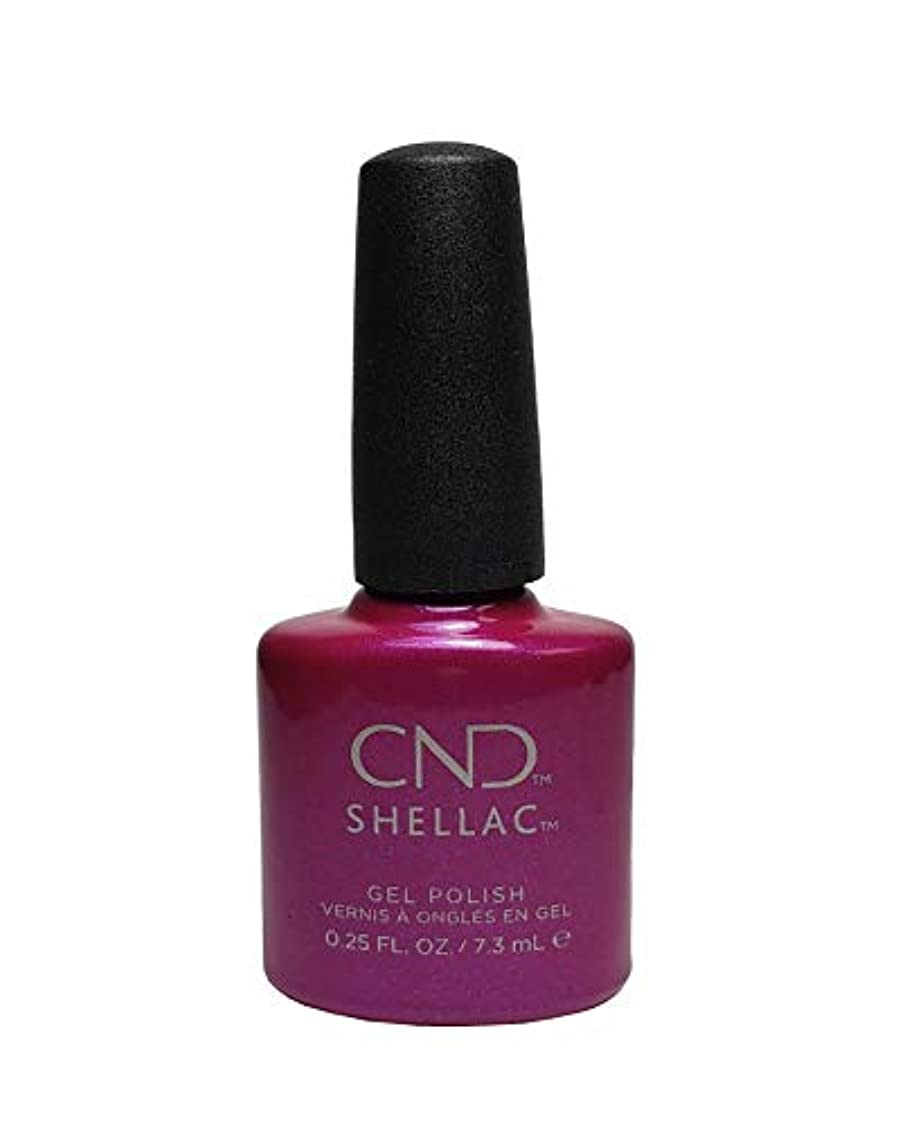アドバンテージ廃棄粉砕するCND Shellac Polish - Magenta Mischief .25oz / 7.3mL