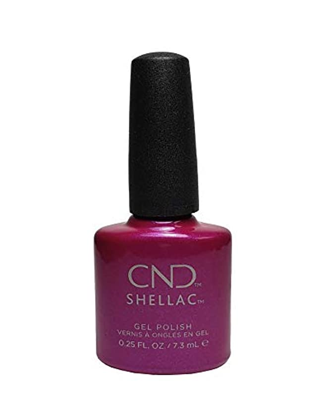 クスクス同情的動物CND Shellac Polish - Magenta Mischief .25oz / 7.3mL
