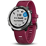 Garmin 010-01863-21 Forerunner 645 Music, GPS Running Watch with Pay Contactless Payments, Wrist-Based Heart Rate and Music, Cerise, 1.2""