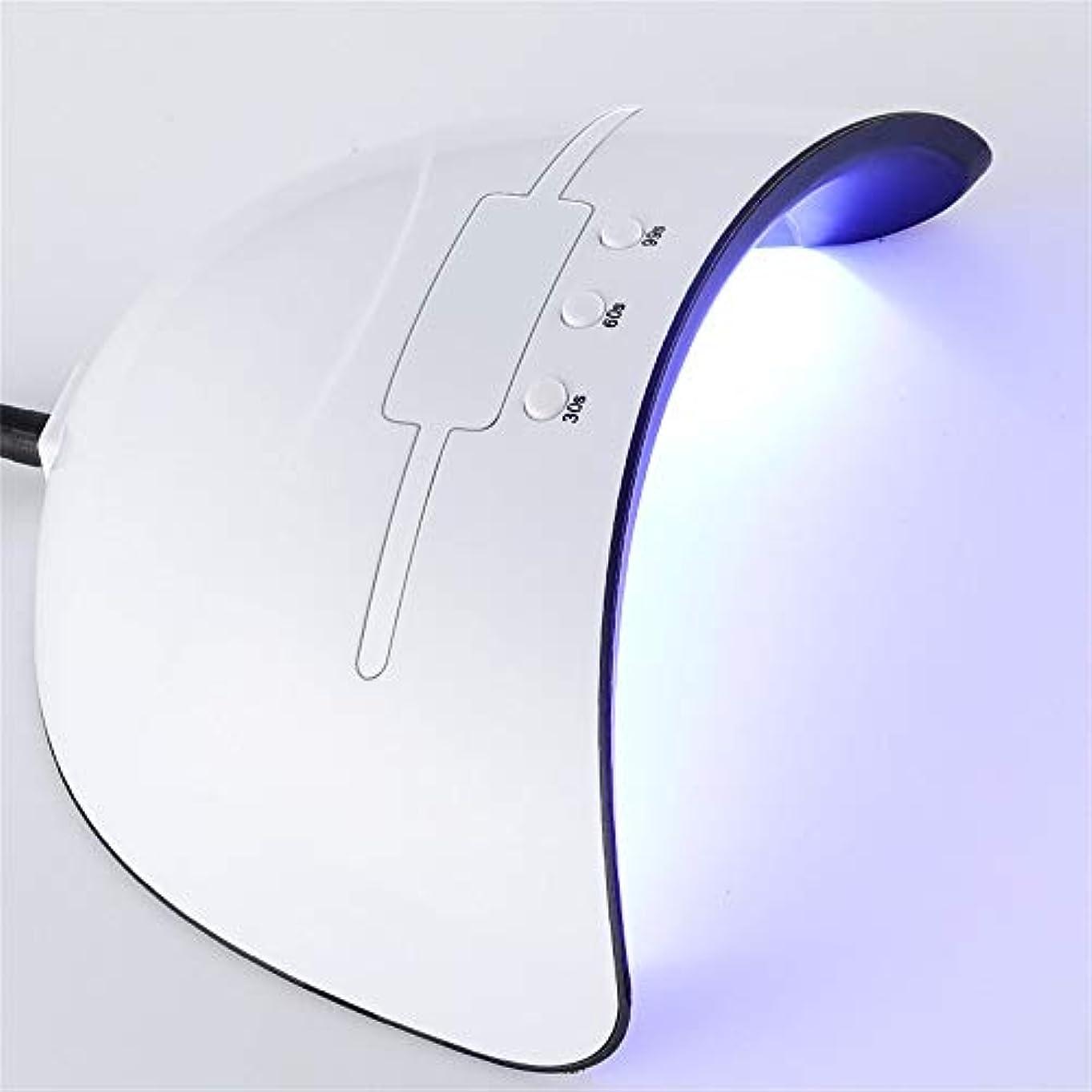 印象飲料後ろにURHOMY 36W LEDネイルドライヤースマート誘導速乾性光線療法機ネイルランプ