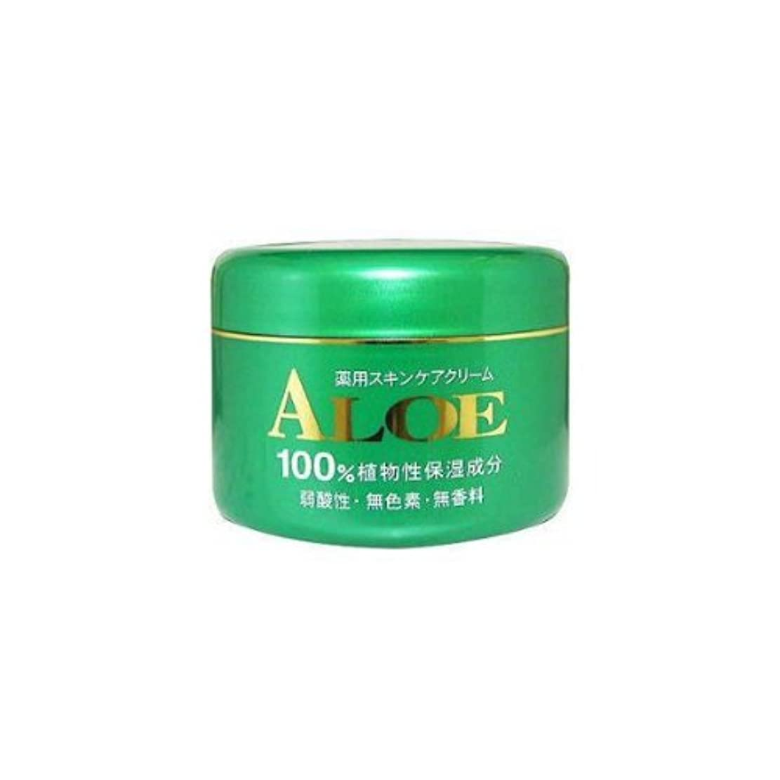 息苦しいクック遡るアロエ薬用スキンケアクリーム185g