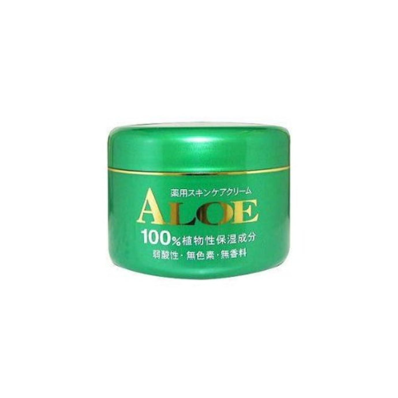 コンプライアンスギャロップ印象的アロエ薬用スキンケアクリーム185g