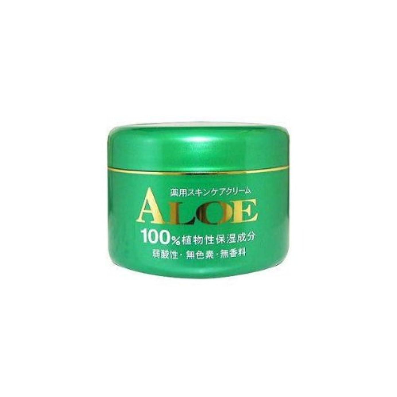 ホスト絶妙古いアロエ薬用スキンケアクリーム185g