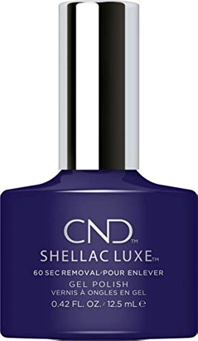 太字いまお肉CND Shellac Luxe - Eternal Midnight - 12.5 ml / 0.42 oz