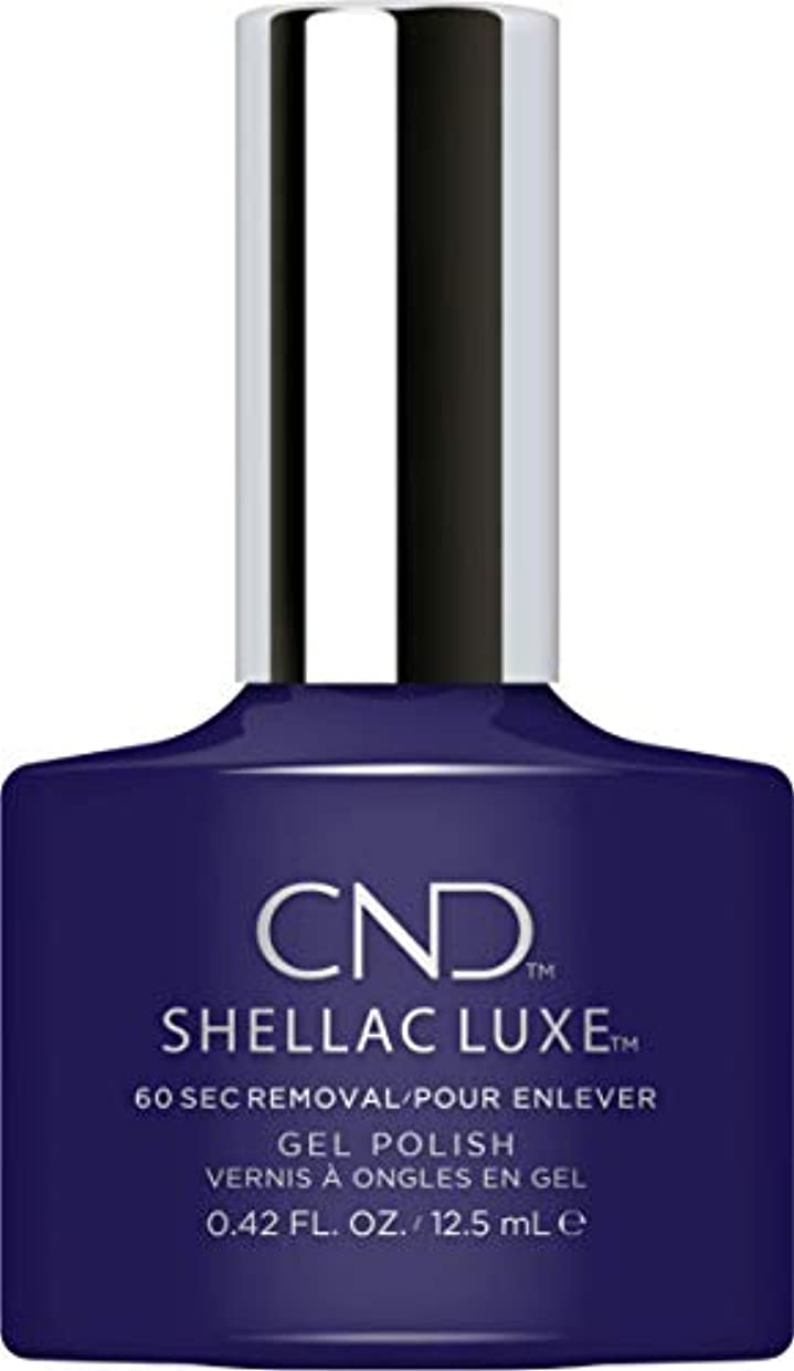 ラビリンス支援すみませんCND Shellac Luxe - Eternal Midnight - 12.5 ml / 0.42 oz