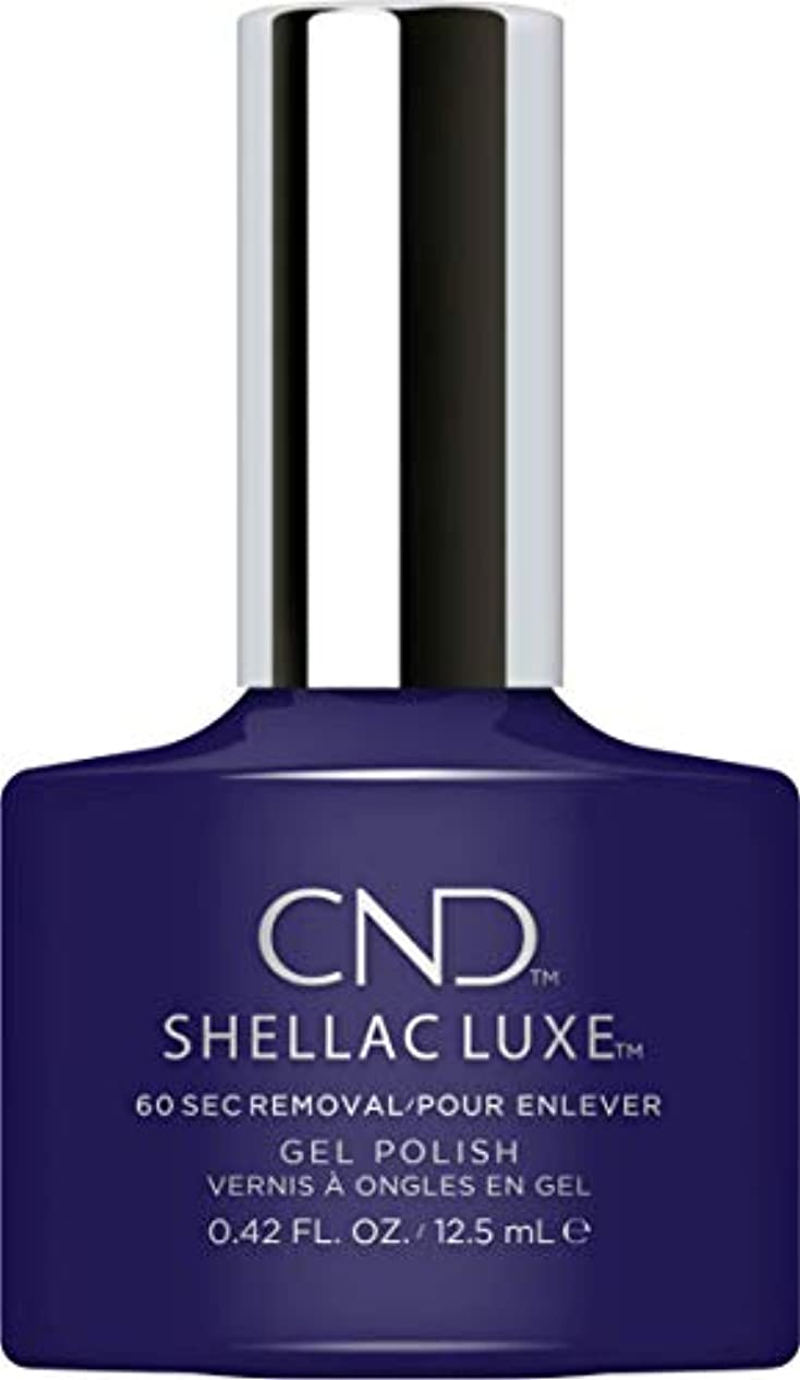 バッテリー終点メイエラCND Shellac Luxe - Eternal Midnight - 12.5 ml / 0.42 oz