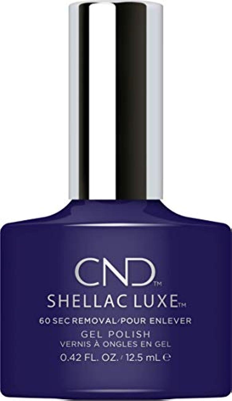 地球メンター割り当てるCND Shellac Luxe - Eternal Midnight - 12.5 ml / 0.42 oz