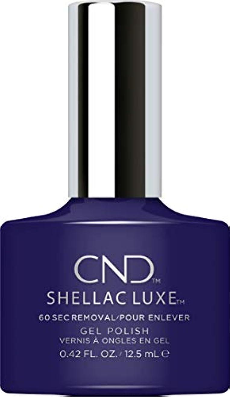 歯科医やさしいカストディアンCND Shellac Luxe - Eternal Midnight - 12.5 ml / 0.42 oz