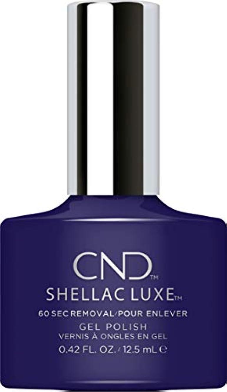 ヨーロッパ脅かすタップCND Shellac Luxe - Eternal Midnight - 12.5 ml / 0.42 oz