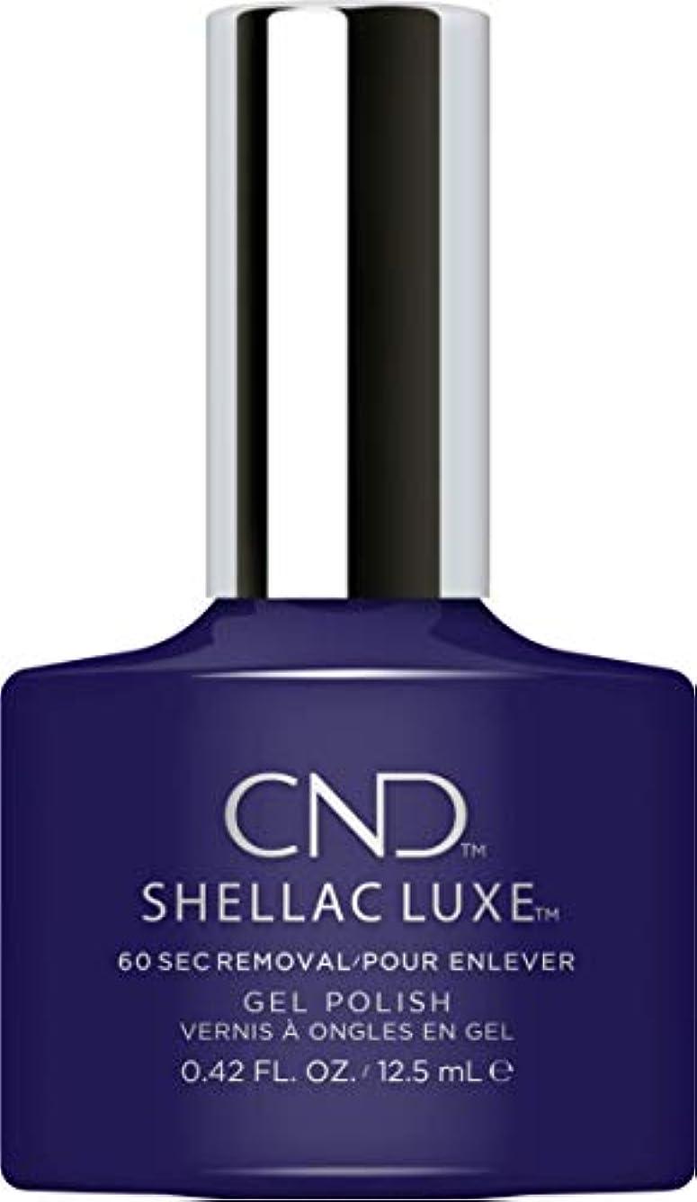 粒住むウイルスCND Shellac Luxe - Eternal Midnight - 12.5 ml / 0.42 oz