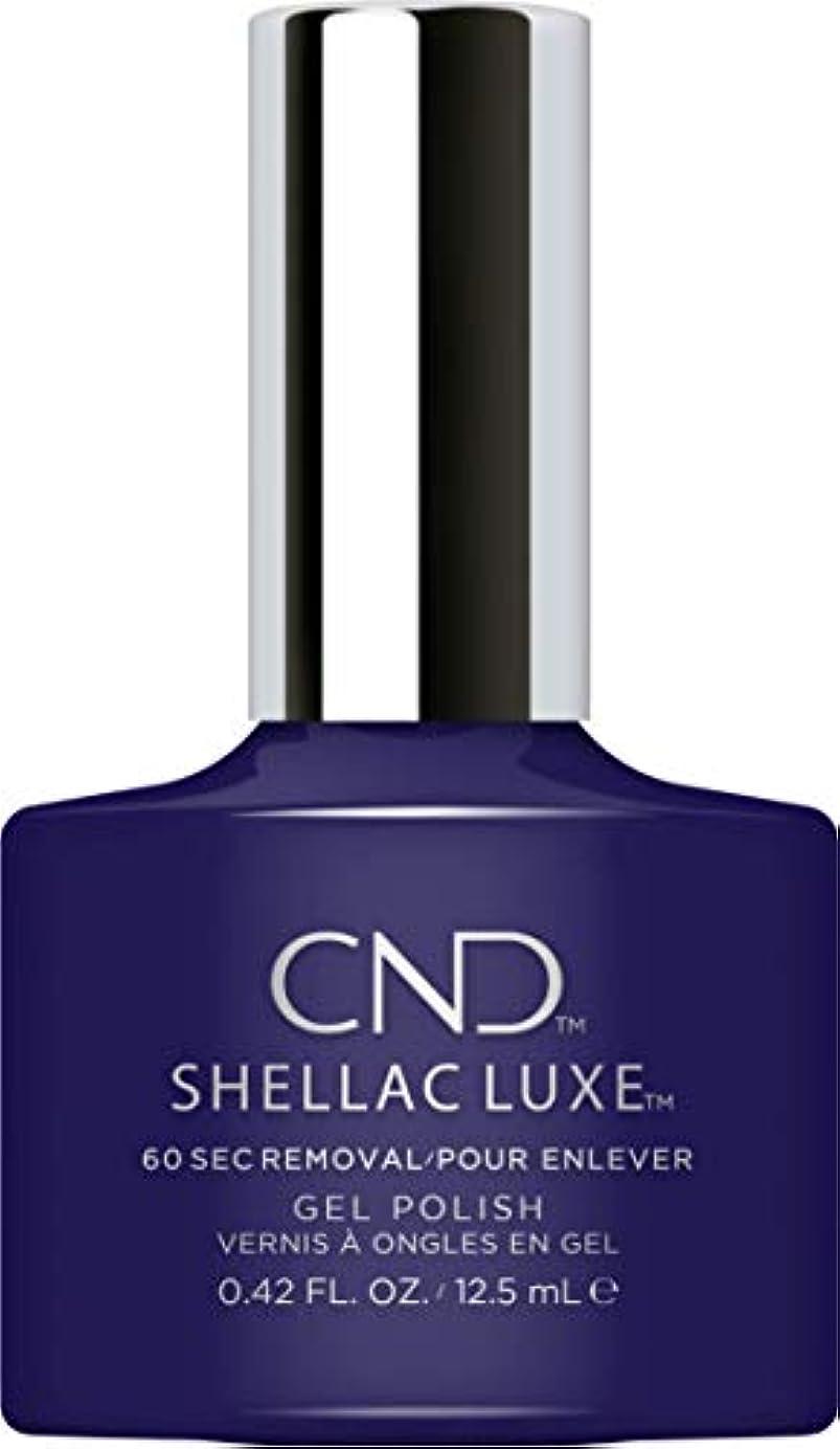 クラス満了のCND Shellac Luxe - Eternal Midnight - 12.5 ml / 0.42 oz