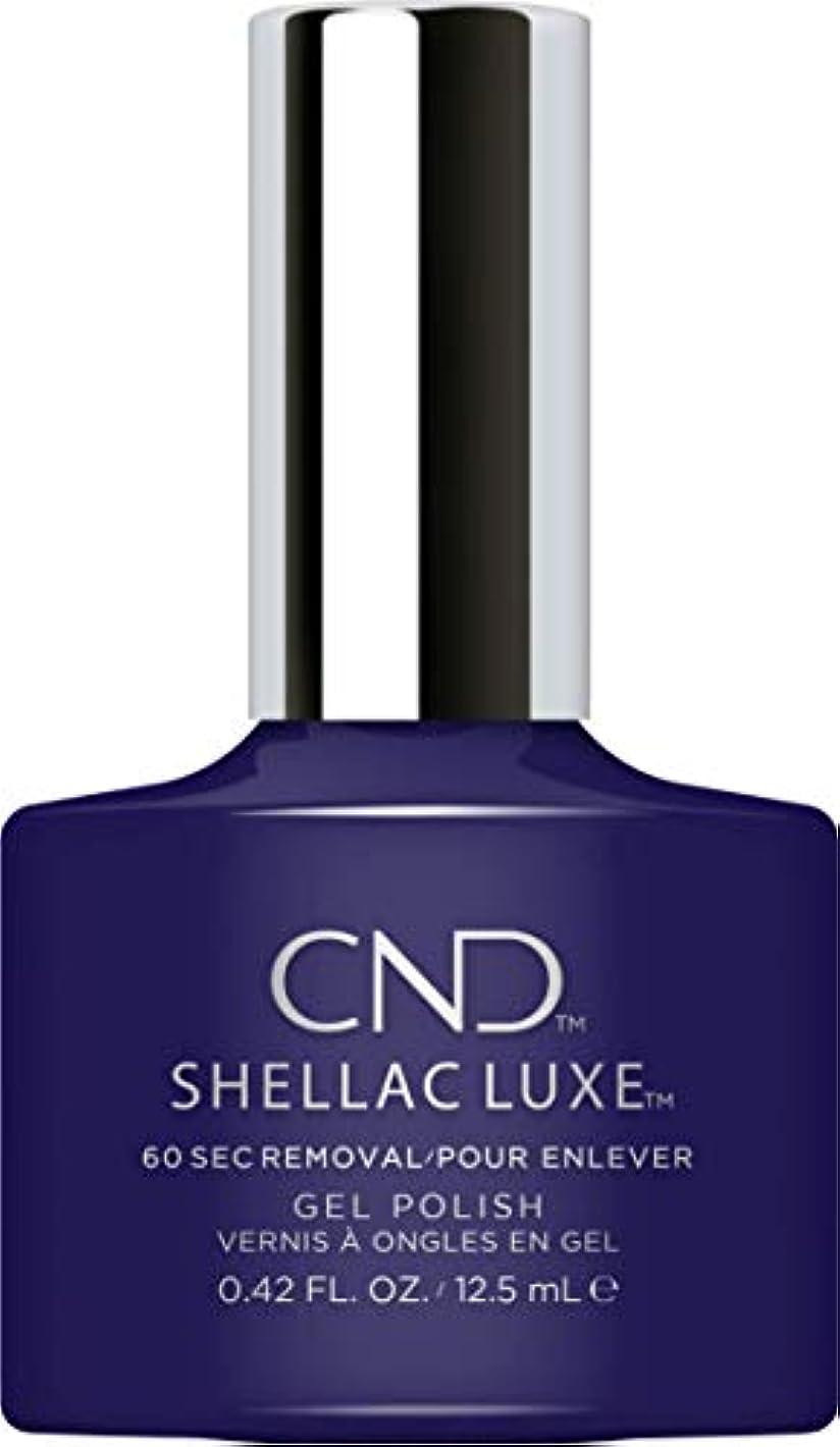 知らせるトーナメント会員CND Shellac Luxe - Eternal Midnight - 12.5 ml / 0.42 oz