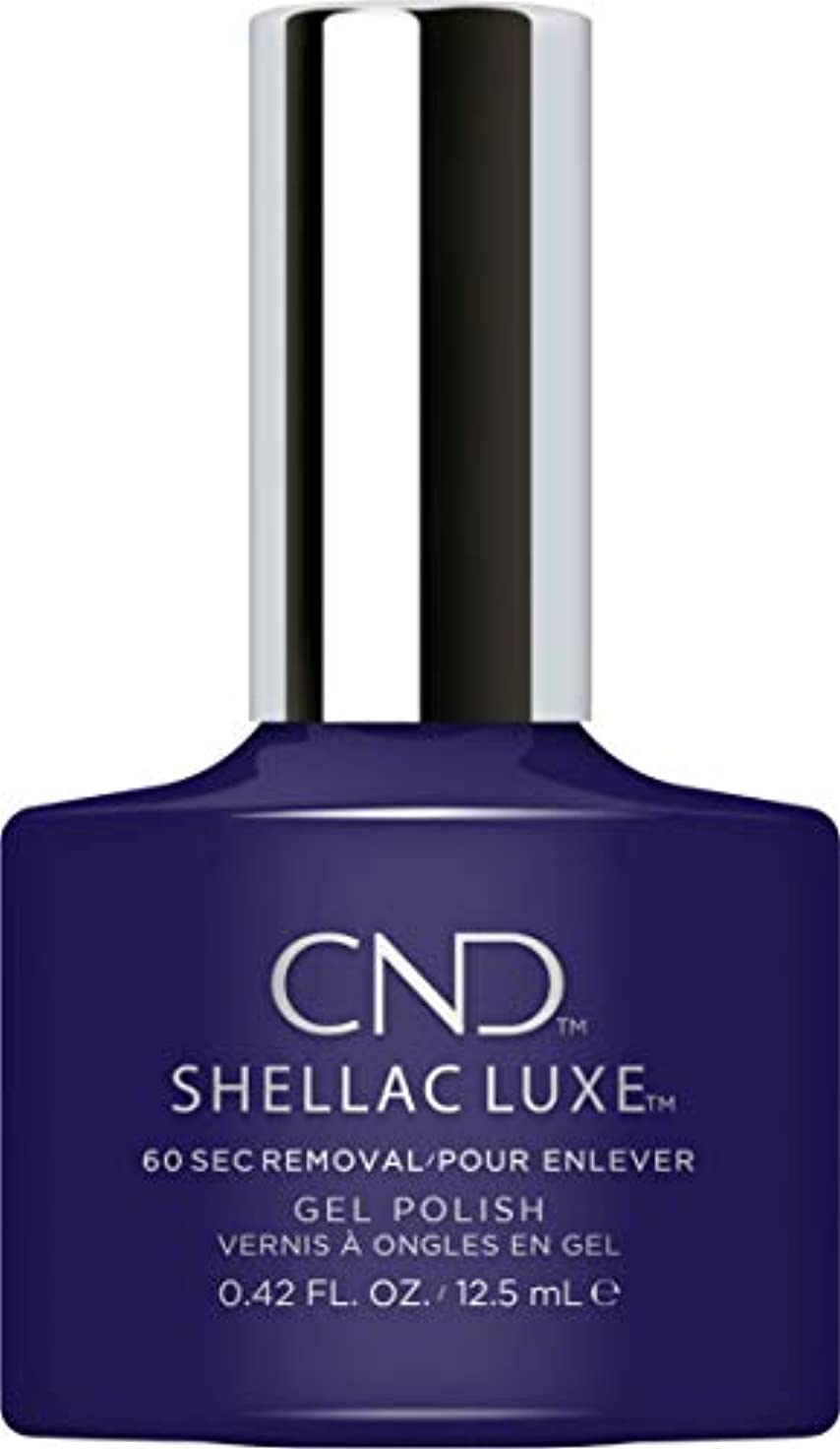 脱走食器棚ショットCND Shellac Luxe - Eternal Midnight - 12.5 ml / 0.42 oz