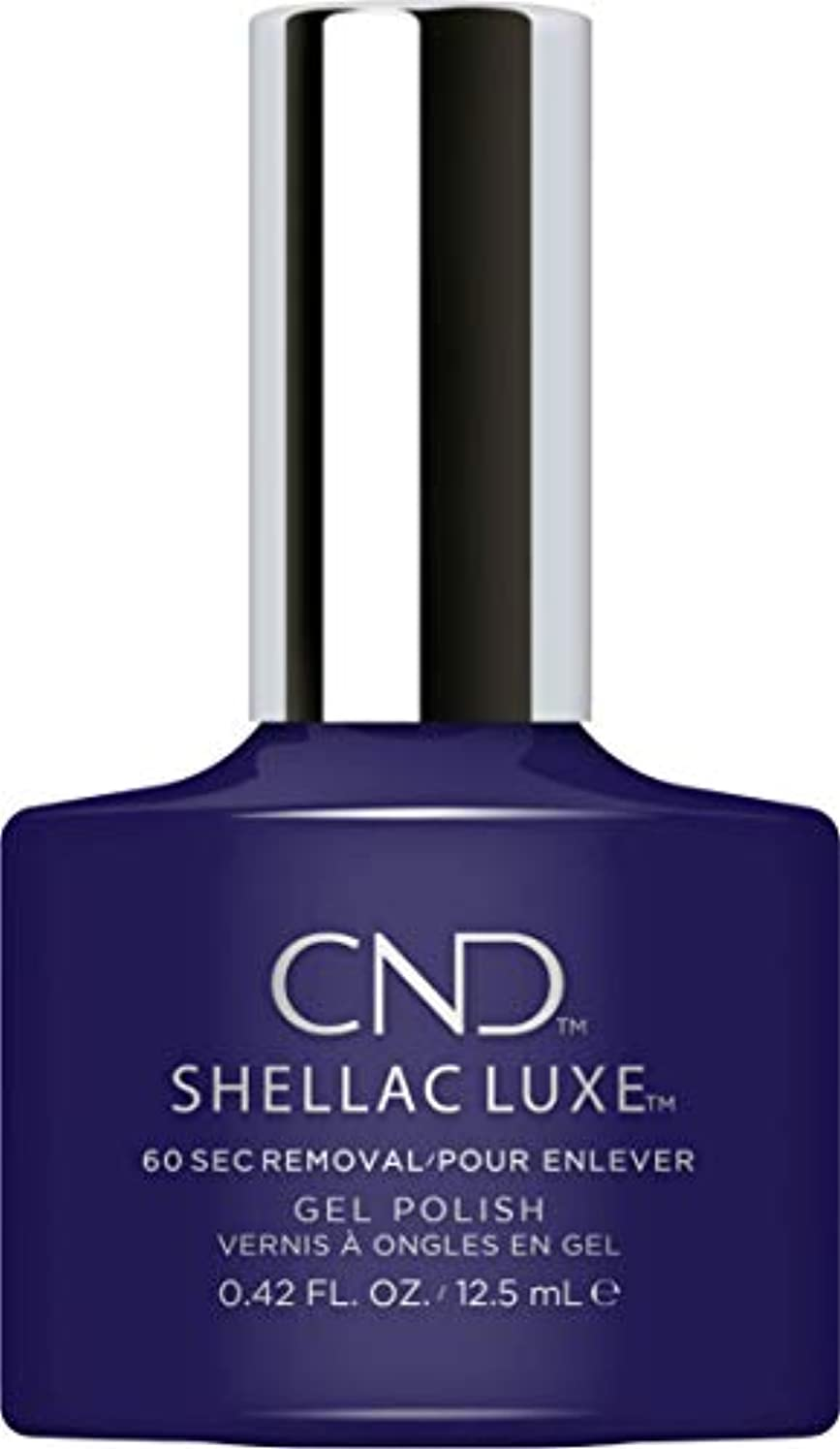 議題パンチ宇宙飛行士CND Shellac Luxe - Eternal Midnight - 12.5 ml / 0.42 oz