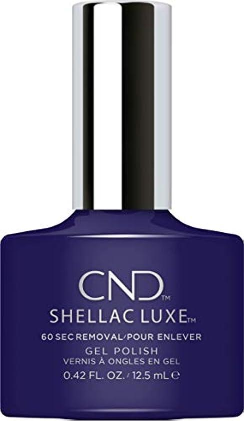 幾分きちんとした印象的なCND Shellac Luxe - Eternal Midnight - 12.5 ml / 0.42 oz