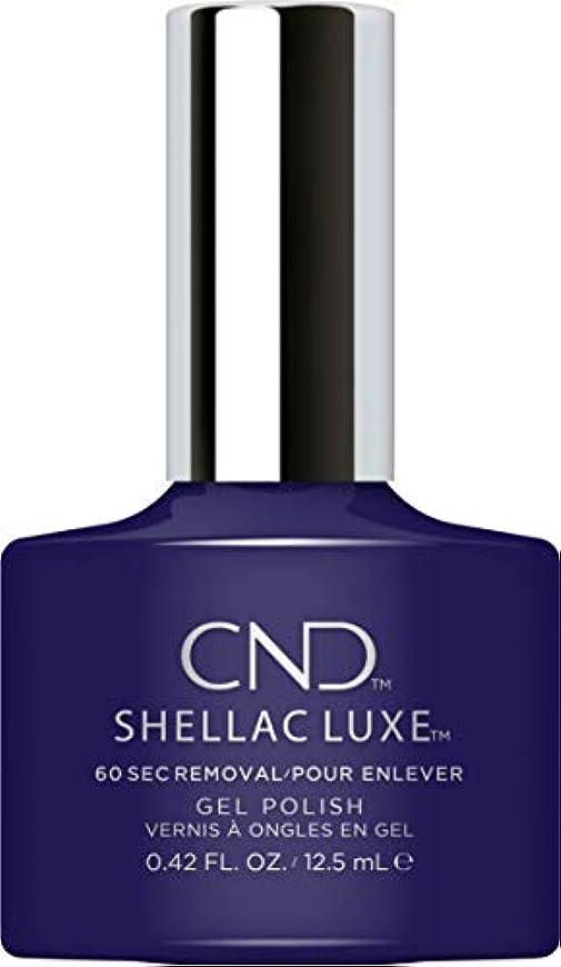コショウ格納備品CND Shellac Luxe - Eternal Midnight - 12.5 ml / 0.42 oz