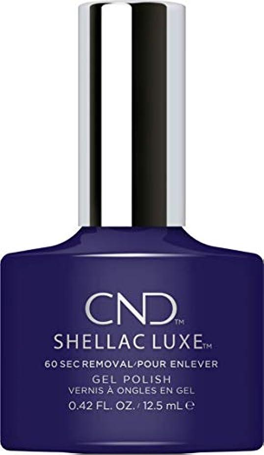 処理いいねストリップCND Shellac Luxe - Eternal Midnight - 12.5 ml / 0.42 oz