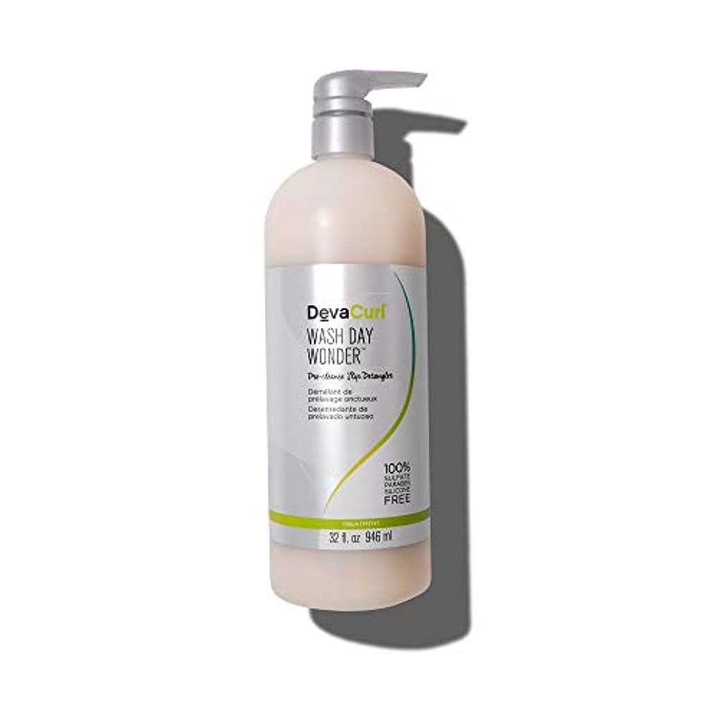 航海の啓示変数デヴァ Wash Day Wonder (Pre-Cleanse Slip Detangler - For All Curl Types) 946ml/32oz並行輸入品