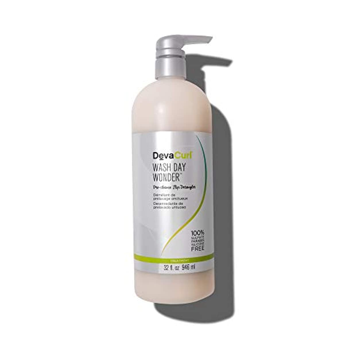 検査こっそり持つデヴァ Wash Day Wonder (Pre-Cleanse Slip Detangler - For All Curl Types) 946ml/32oz並行輸入品