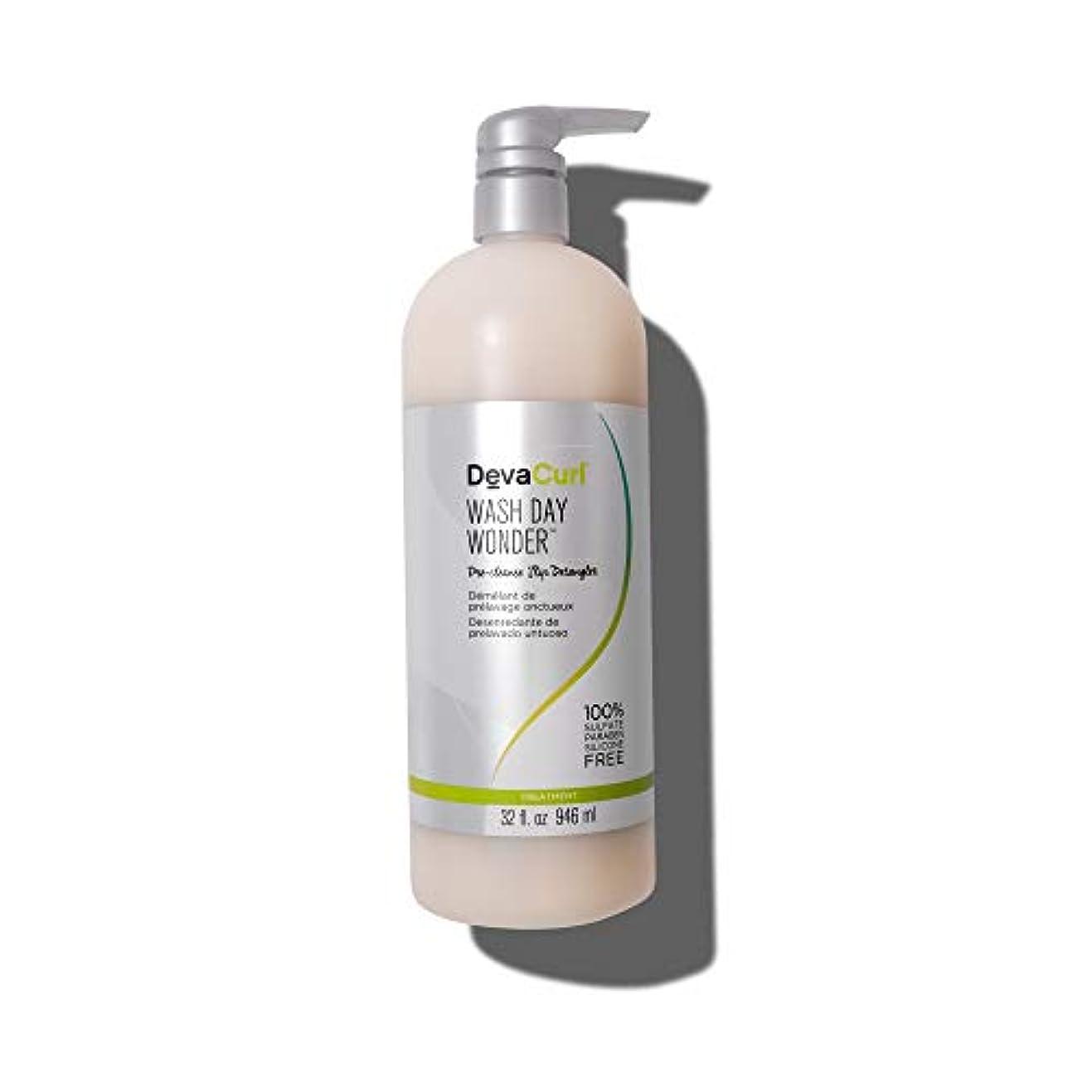 ぬれたつらい鋼デヴァ Wash Day Wonder (Pre-Cleanse Slip Detangler - For All Curl Types) 946ml/32oz並行輸入品