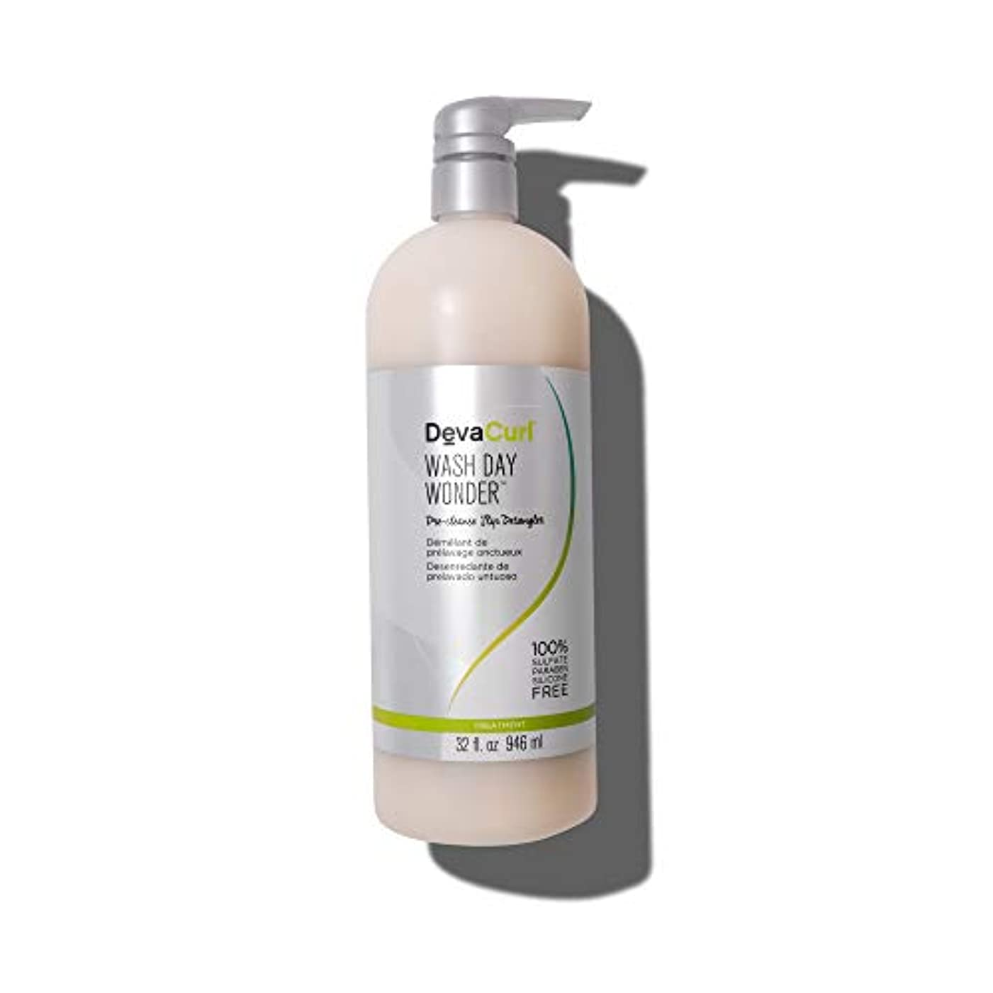 エジプトひいきにする小学生デヴァ Wash Day Wonder (Pre-Cleanse Slip Detangler - For All Curl Types) 946ml/32oz並行輸入品