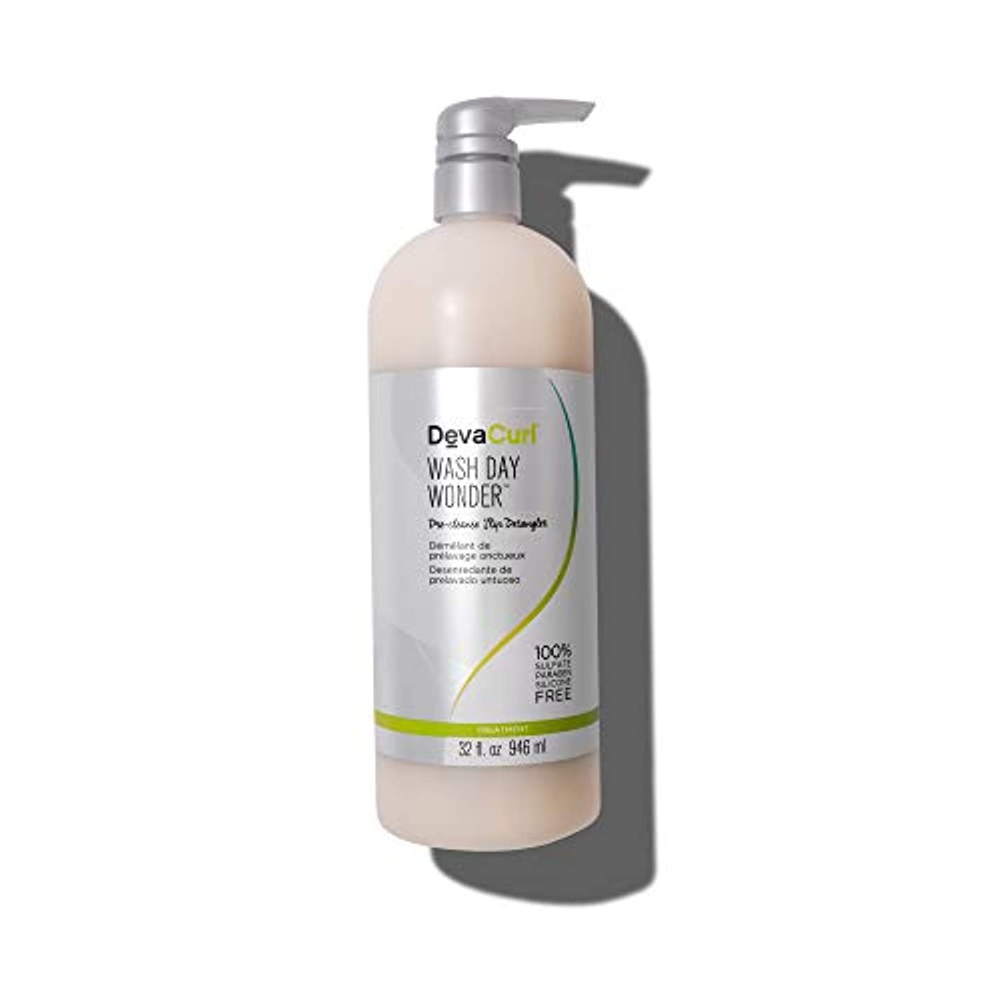 有名下品手伝うデヴァ Wash Day Wonder (Pre-Cleanse Slip Detangler - For All Curl Types) 946ml/32oz並行輸入品