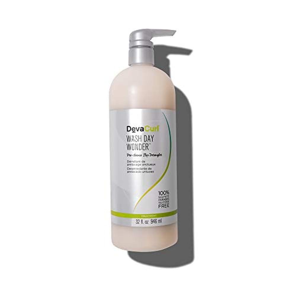 階段市長音声学デヴァ Wash Day Wonder (Pre-Cleanse Slip Detangler - For All Curl Types) 946ml/32oz並行輸入品