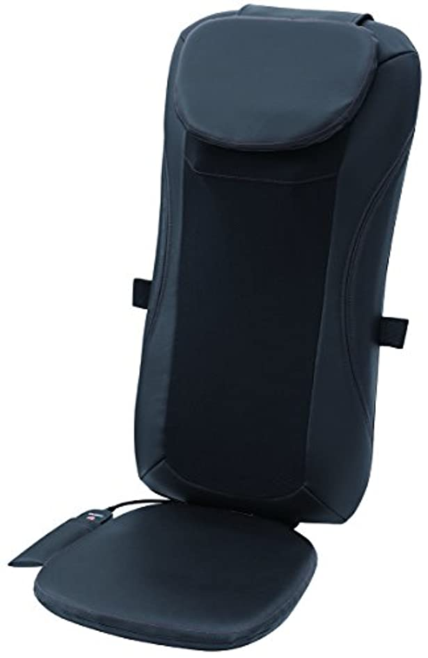 スライヴ シートマッサージャー(温風式ヒーター搭載) ブラック 「通販限定モデル」 MD-8650