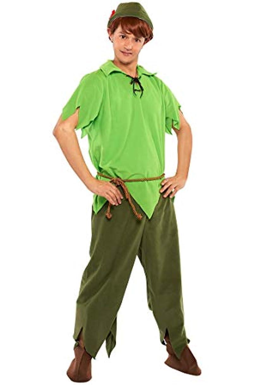 届ける処方する靴下ディズニー ピーターパン コスチューム メンズ 165cm-175cm