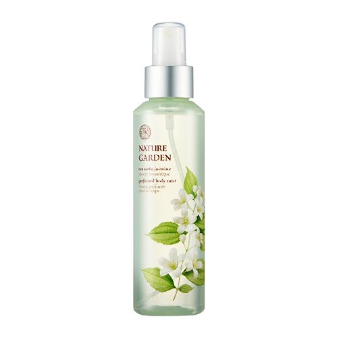 無視する本部重要性THE FACE SHOP NATURE GARDEN (Romantic Jasmine) Perfume Body Mist / ザ?フェイスショップ ネイチャーガーデン パフューム ボディミスト [並行輸入品]