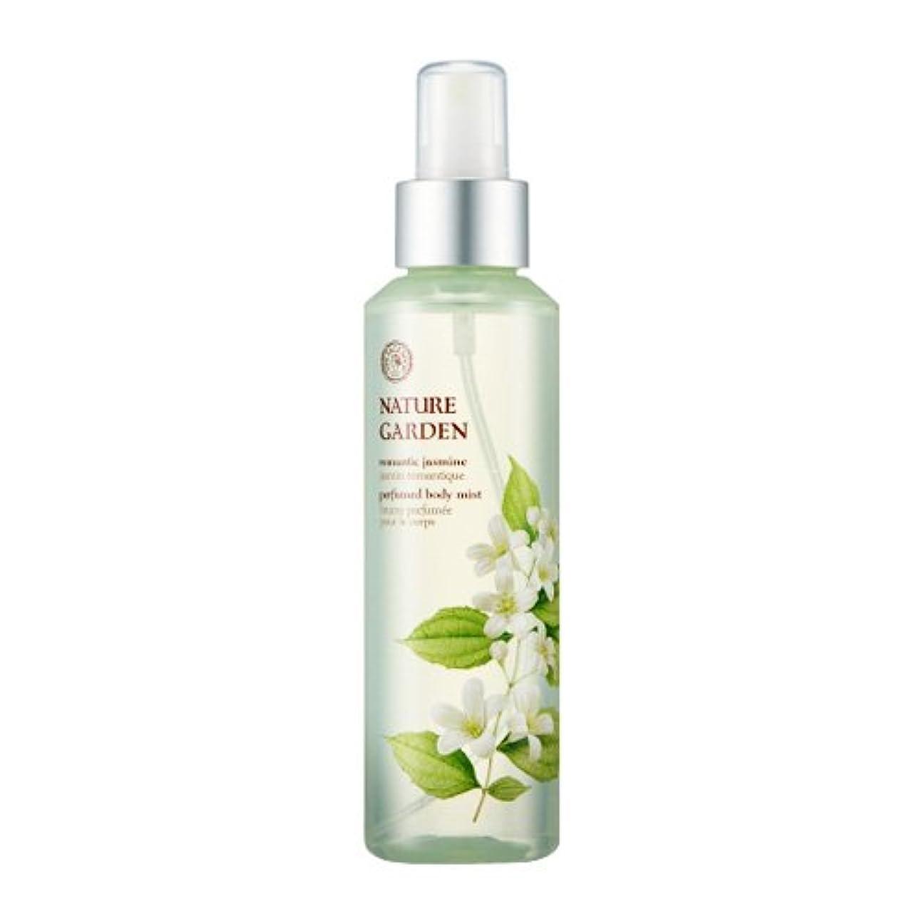 ウェーハ金銭的ラフ睡眠THE FACE SHOP NATURE GARDEN (Romantic Jasmine) Perfume Body Mist / ザ?フェイスショップ ネイチャーガーデン パフューム ボディミスト [並行輸入品]