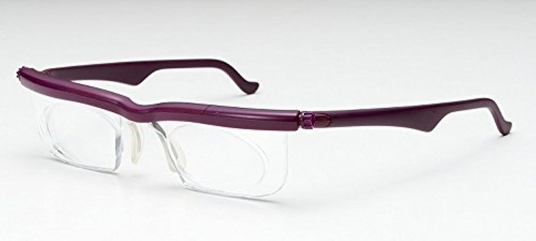 豆腐行為立法アドレンズ ライフワン:自分で度数を調節できるメガネの最新モデル ワイン 2個セット