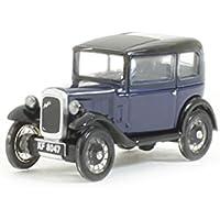 Oxford Diecast 76ass002 Austin Seven Rn Saloon Light Royal Blue