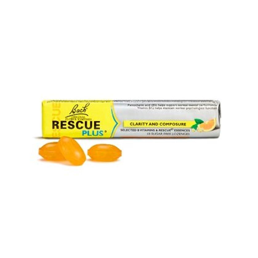 化学薬品ボックス用心深いバッチフラワーレメディ レスキュープラス ロゼンジ(4.2g×10粒)