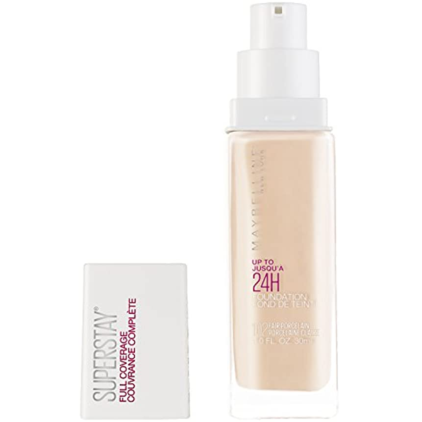 北西寄生虫味MAYBELLINE Superstay Full Coverage Foundation - Fair Porcelain 102 (並行輸入品)