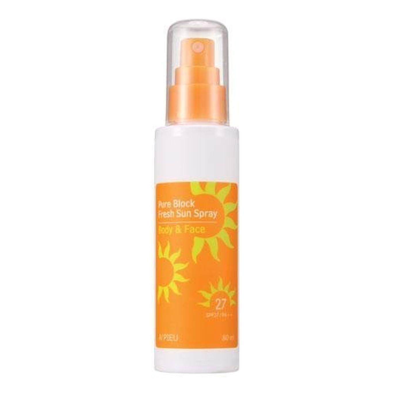キネマティクスサーカス大佐APIEU Pure Block Fresh Sun Spray (SPF27,PA++) [Korean Import]